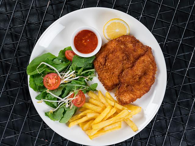 Tavuk Schnitzel