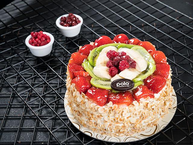 Fındıklı & Meyveli Pasta