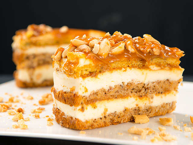 Havuçlu Karamelli Pasta
