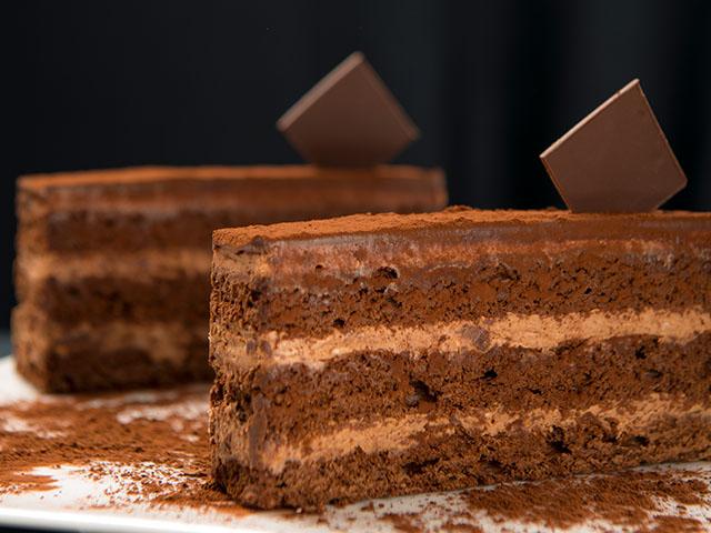 Duble Çikolatalı